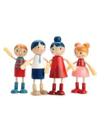 Tender Leaf Flexi Doll Family