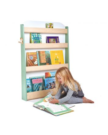 Tender Leaf Forest Wooden Bookcase