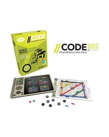 ThinkFun CODE: Robot Repair Game