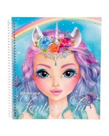Create Your Fantasy Face Activity Book