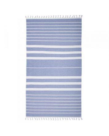 Ultramarine Turkish Beach Towel