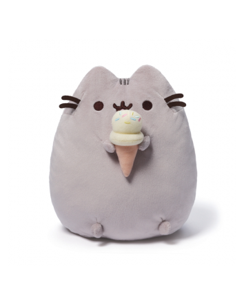 Pusheen w/ Ice Cream Cone