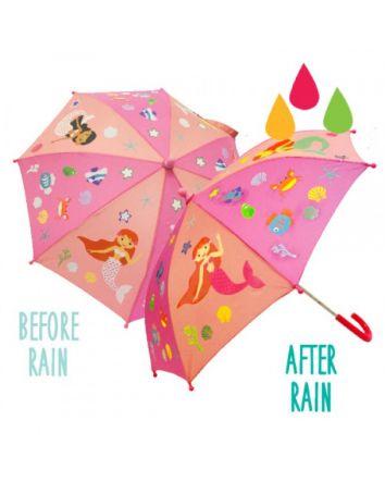 Colour Changing Umbrella- Mermaid