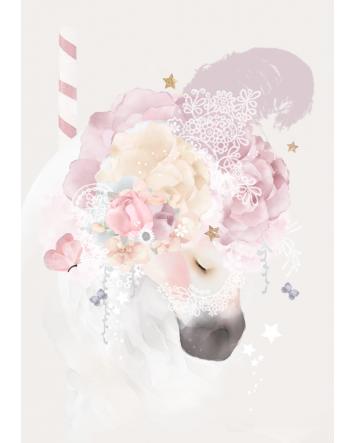 Carousel Romance Print