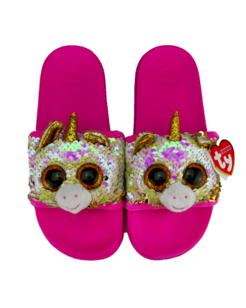 Fantasia the Unicorn Sequin Slides