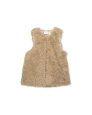 Milky Fur Vest