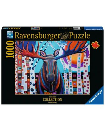 Ravensburger Canadian Winter Moose
