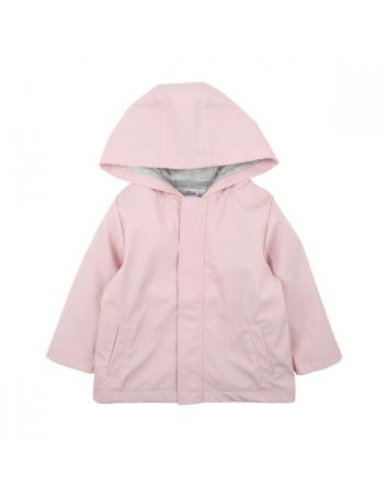 Pink Lined Raincoat