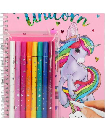 Create Your Own Unicorn With Felt Pens