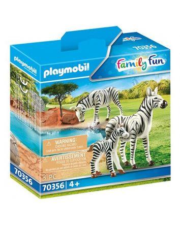 Playmobil Zebra with Foal